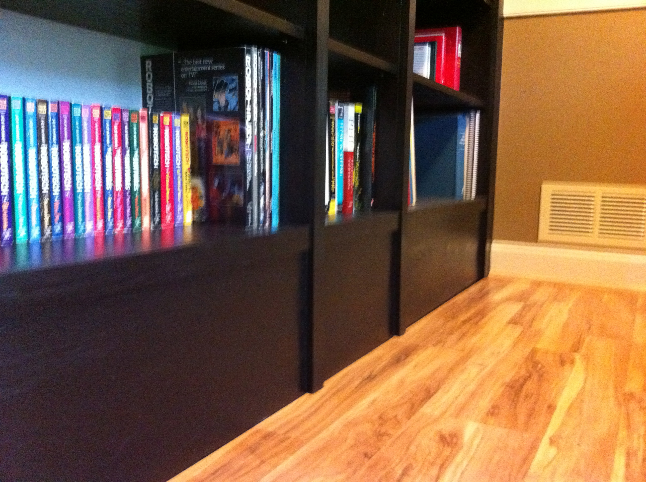Built In Ikea Billy Bookcases Ageekdad