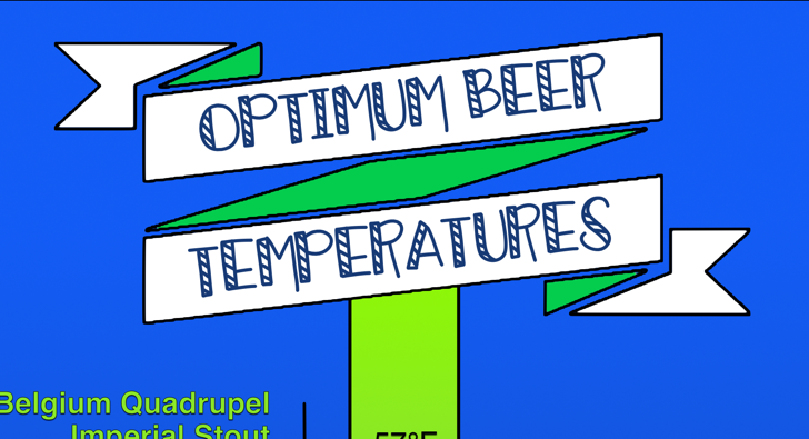 Serving Temperature for Beer?
